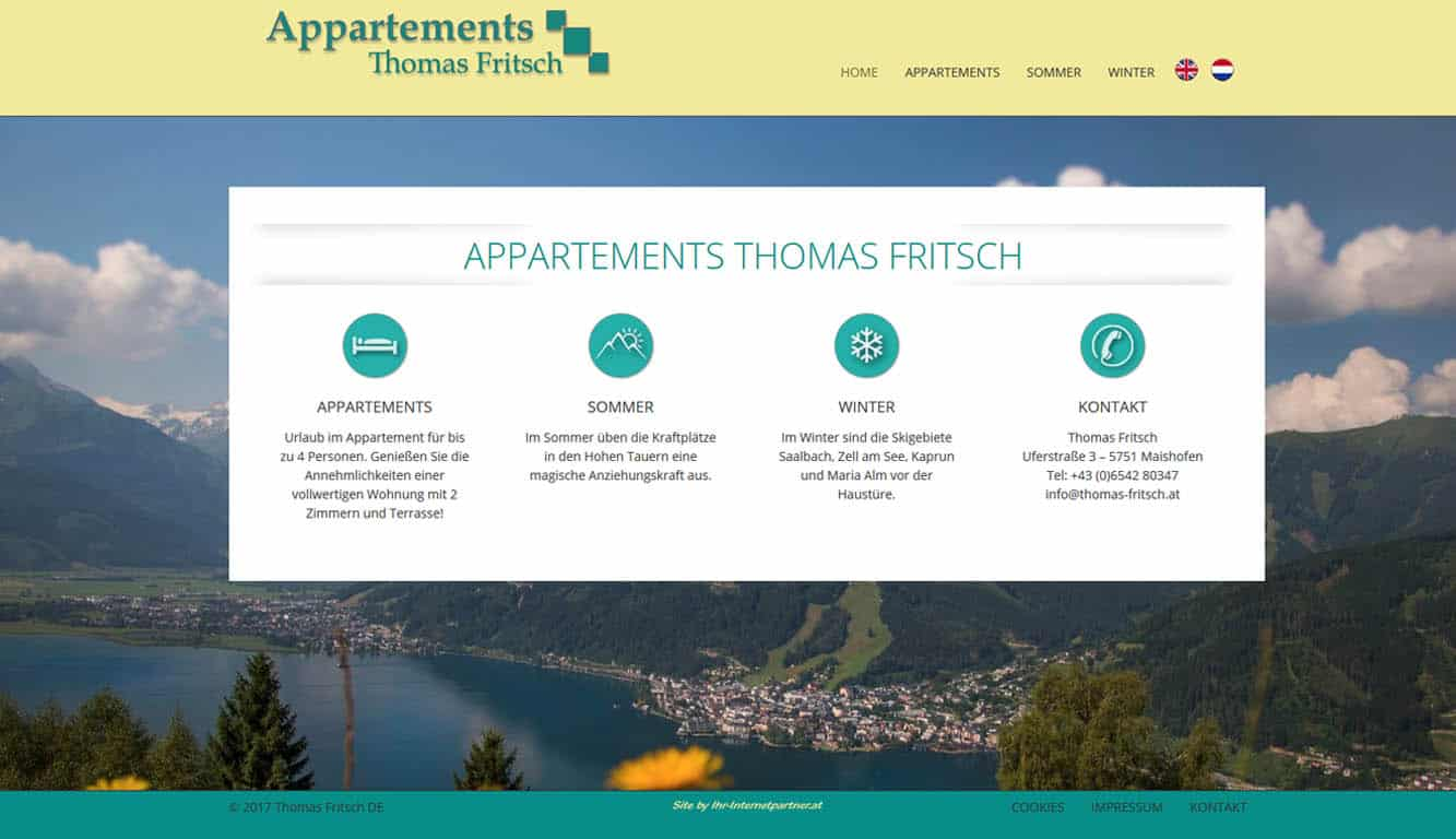 Appartements Thomas Fritsch Maishofen