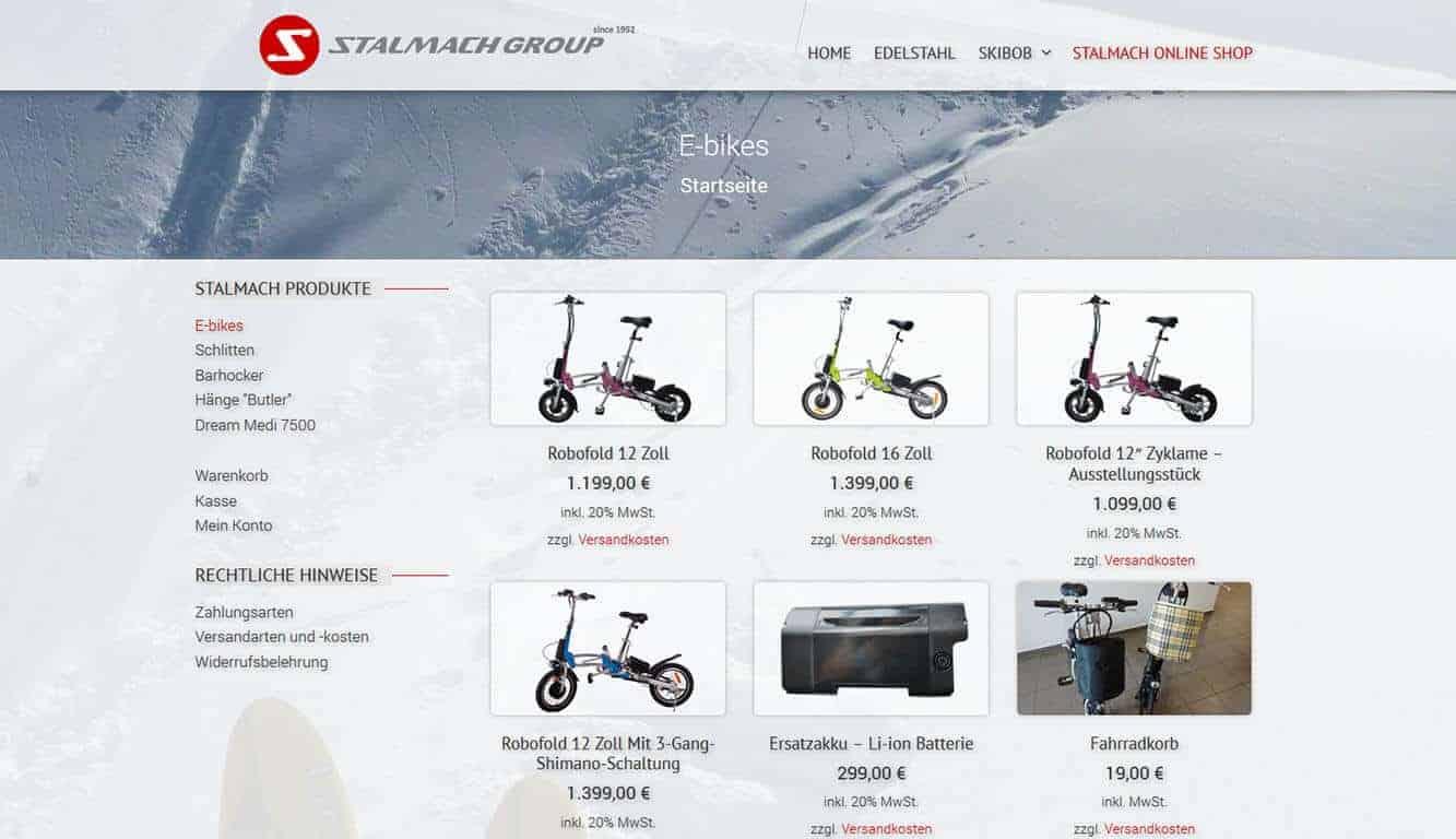 Stalmach Group Online Shop