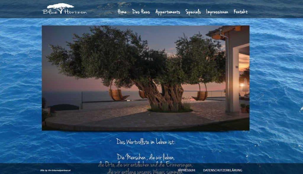 Blue Horizon Griechenland
