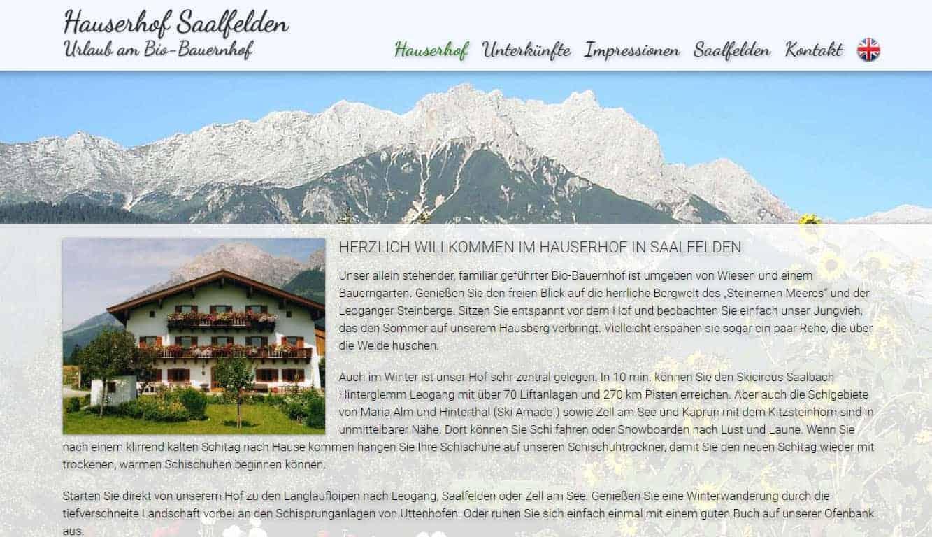 Hauserhof Saalfelden
