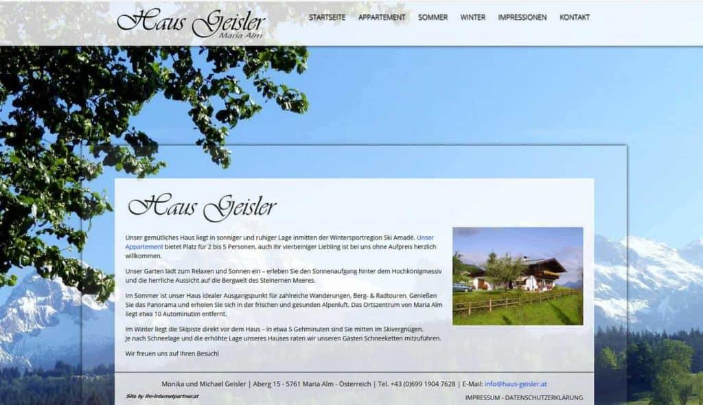 Haus Geisler – Maria Alm