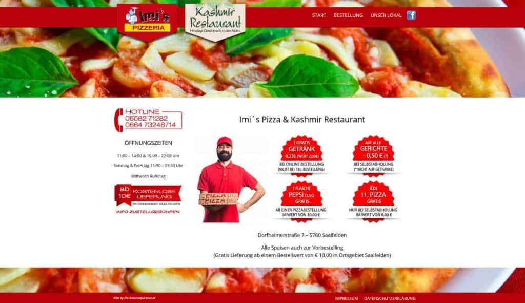 IMI´S Pizza Saalfelden (Offline)