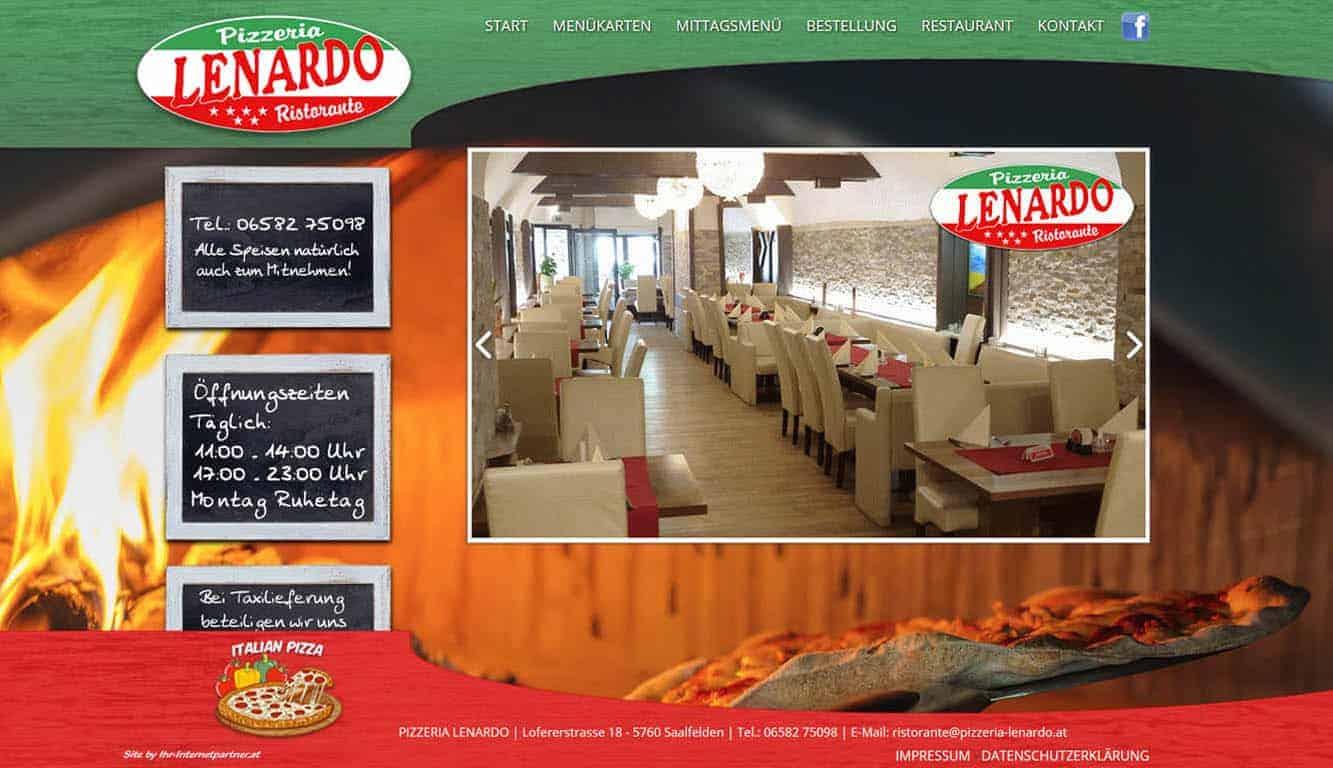 Pizzeria Lenardo in Saalfelden