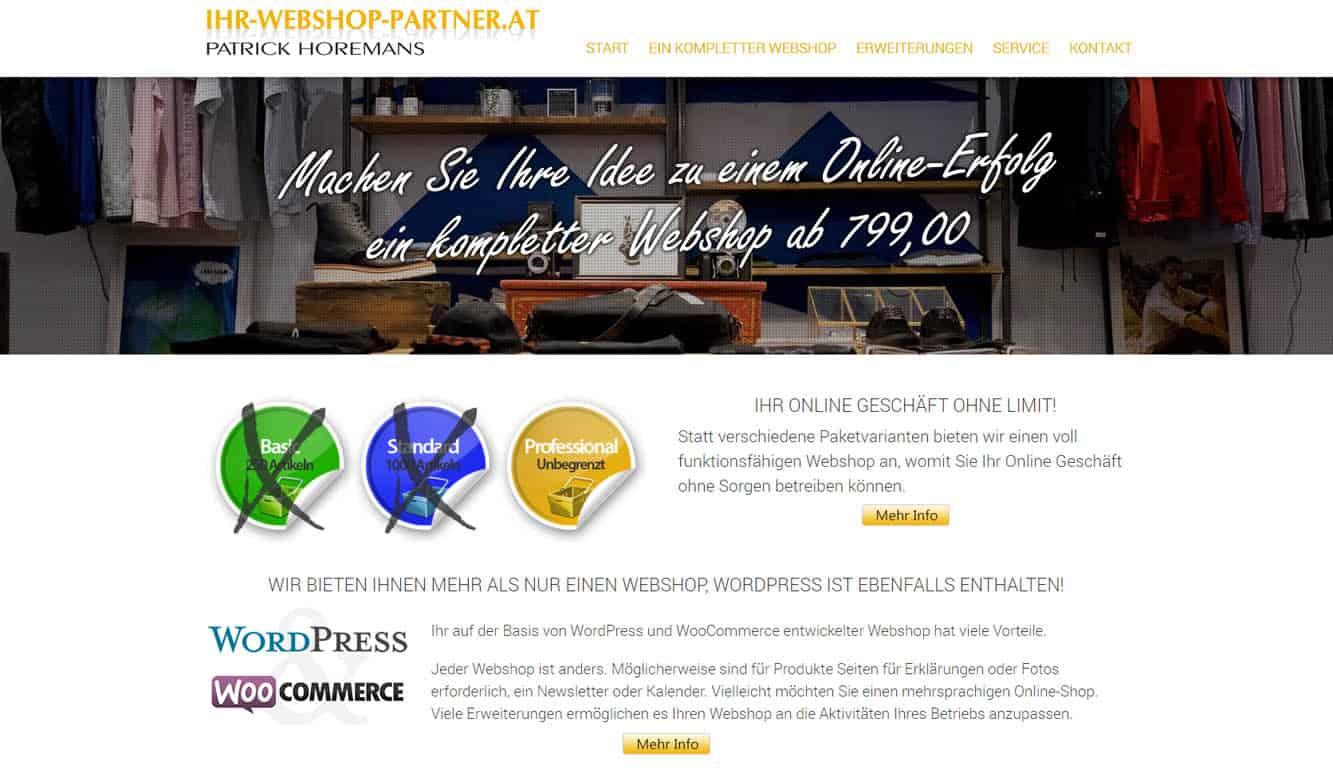 Ihr Webshop Partner