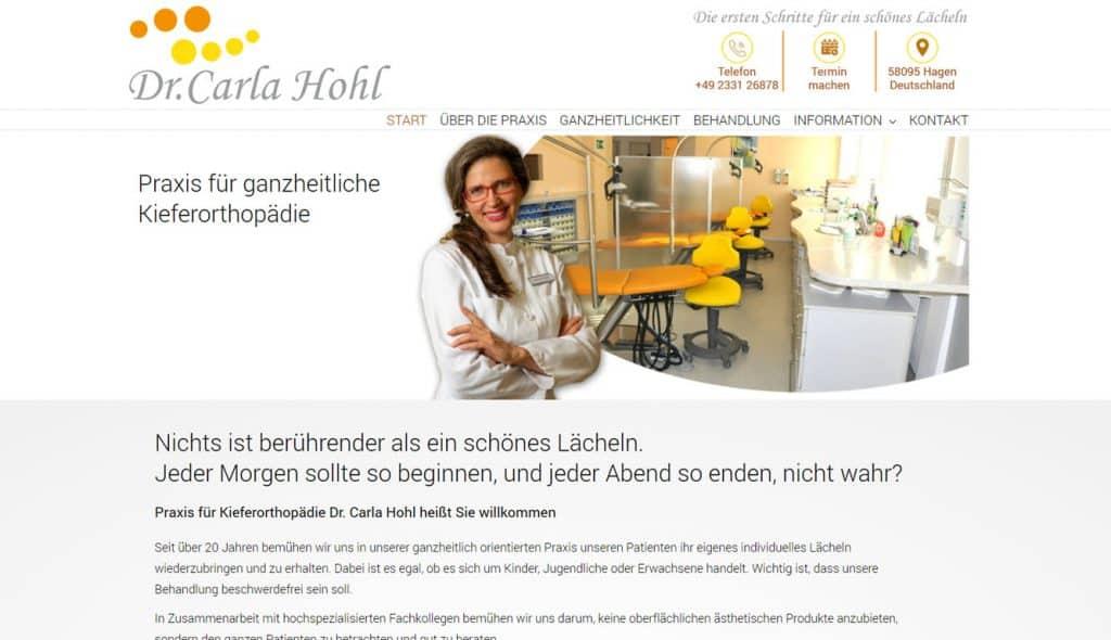 Dr Carla Hohl