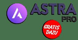 Bei WordPress Website Astra Theme kostenlos dazu